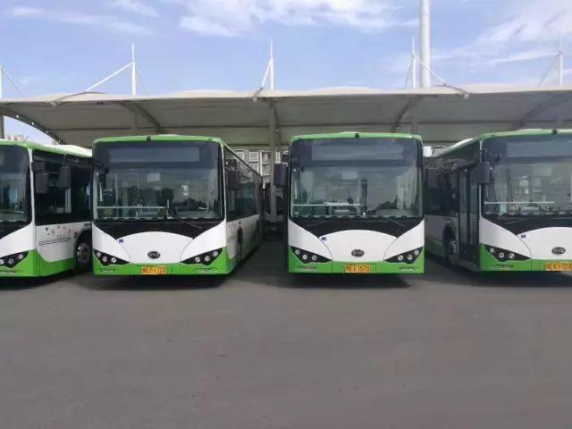 我市将投入300辆纯电动公交车!常坐这五趟车的人有福了!